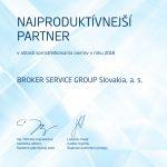 2018 Najproduktívnejší partner