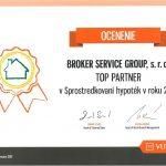 2016 Top partner v sprostredkovaní hypoték