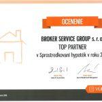 2015 Top Partner v Sprostredkovaní hypoték