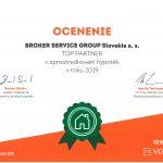 2019 TOP Partner v sprostredkovaní hypoték
